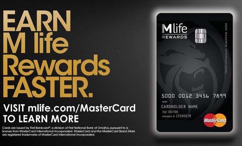 mlife rewards mastercard
